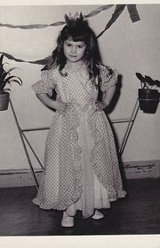 Princess d'Or (Zlatuše Josefa Müller en âge de trois ans) - Saison Carnevale Brünn, photo: Atelier Medvídek Brno
