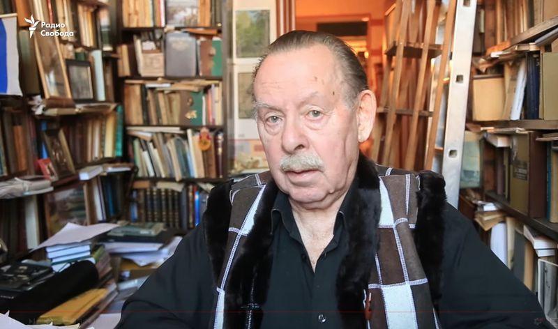 Яков Гордин, фото: Радио Свобода / YouTube