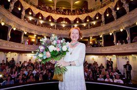 Cena prezidenta festivalu byla udělena české herečce Ivě Janžurové, foto: ČTK