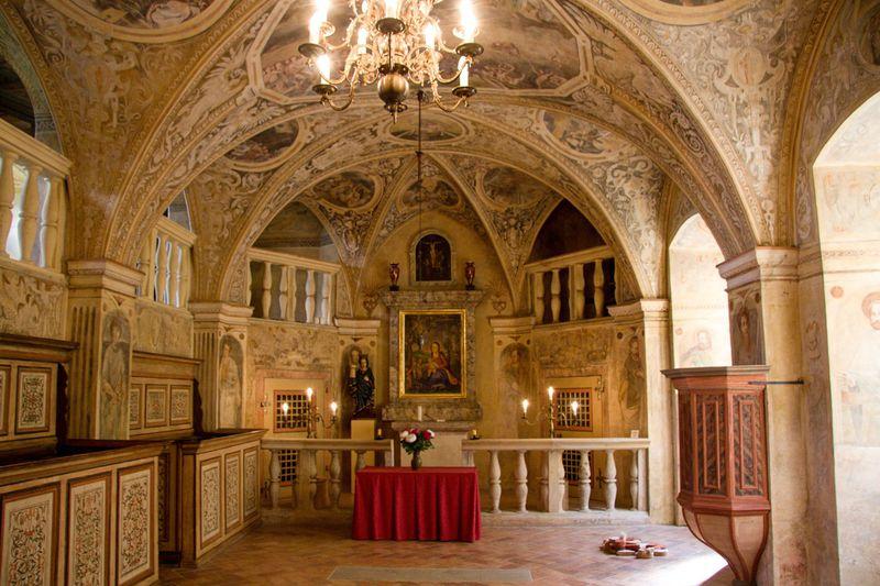 Burg Grabštejn (Foto: Jaroslav Hoření, Archiv des Tschechischen Rundfunks)