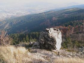 The view from Ještěd, photo: Štěpánka Budková