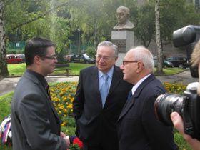 Michal Šesták, Enrique Krauss y Rafael Moreno