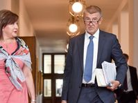 Alena Schillerová, Andrej Babiš, foto: ČTK/Vít Šimánek