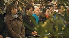 Рождественская месса в г. Острава, Фото: ЧТ24