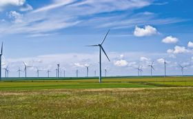 Windpark Fântânele-Cogealac (Foto: Sandri Alexandra, Flickr, CC BY-SA 2.0)