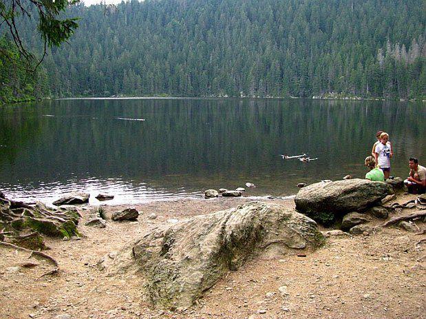 Le lac Čertovo jezero, photo: Barbora Němcová