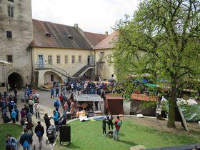 El castillo Křivoklát, foto: Markéta Vejvodová