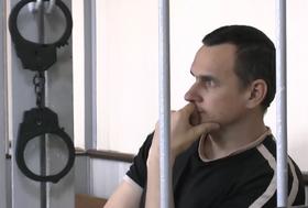 Олег Сенцов, фото: копия «Процесс» Аскольд Куров