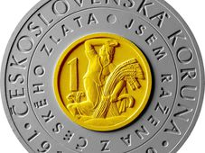 A special two-metal commemorative CZK, photo: ČNB