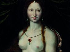 'La Joconde nue' de Joos van Cleve, photo: Galerie nationale de Prague