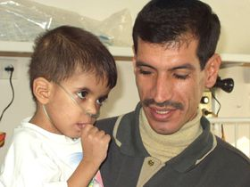 Abbas Asad and his father