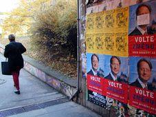Плакаты в улицах Праги