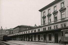 Prager Bahnhof Těšnov (Foto: Archiv des Prager Stadtmuseums)