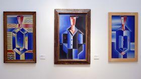 Las obras de Josef Čapek, foto: ČTK