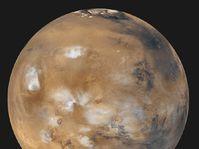 El planeta Marte, foto: www.planetarium.cz