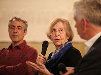 Alex Zucker, Zuzana Justman, David Vaughan, photo: Pavel Štingl