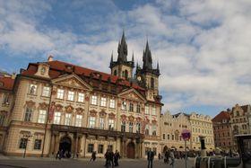 Староместская площадь, здание Национальной галереи, Фото: Кристина Макова, Чешское радио - Радио Прага
