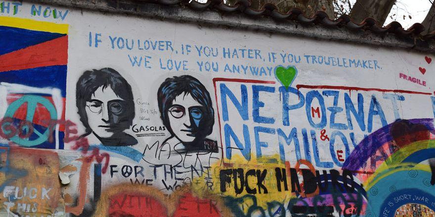 Lennonova zeď , foto: Jekaterina Staševska