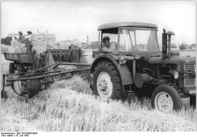 Трактор Zetor, 1959 г., Фото: Martin/Bundesarchiv, Bild 183-65868-0006 / CC-BY-SA 3.0