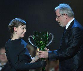 Tereza Dočkalová aředitel Národního divadla Ondřej Černý, foto: ČTK