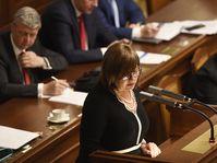 Ministryně financí Alena Schillerová (za ANO), foto: ČTK/Michal Krumphanzl