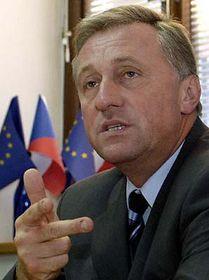 Líder del opositor Partido Cívico Democrático, Mirek Topolánek (Foto: CTK)