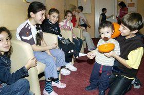 Бесланские дети в Карловых Варах (Фото: ЧТК)