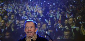 Václav Havel, celebraciones de la Revolución de Terciopelo, foto: ČTK