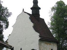 St. Nikolauskirche in Kašperské Hory (Foto: Autorin)