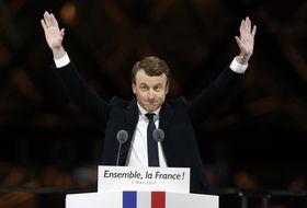 Emmanuel Macron, foto: ČTK
