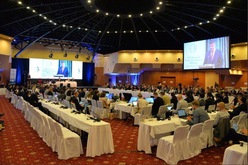 La conférence internationale sur l'Antarctique, photo: Twitter de MZV