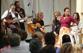 Český festival Flamenco upříležitosti otevření zámku