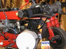 Nejmenší motorka ve střední Evropě, foto: Archiv Muzea rekordů a kuriozit