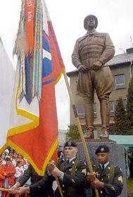 Estatua del general George Patton en Pilsen (Foto: CTK)