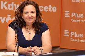 Magda Faltová, photo : Jana Přinosilová, ČRo