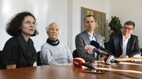 Milena Johnová, Zdena Mašínová, photo: ČTK/Michal Kamaryt