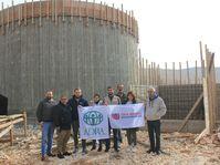 Le réservoir d'eau dans la région de la vallée de la Bekaa, photo: ADRA