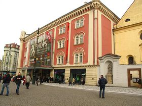 Palladium na Náměstí republiky vPraze, foto: Kristýna Maková