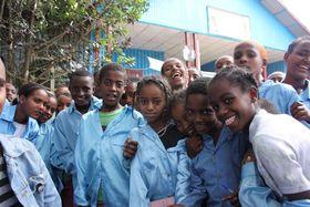 Ethiopian children, photo: Štěpánka Budková