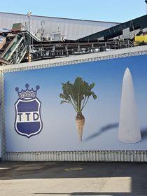 Zeichen der Firma Tereos TTD AG (Foto: Maria Hammerich-Maier)