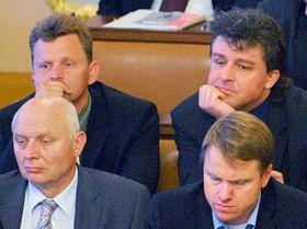Martin Bursík a la derecha abajo (Foto: CTK)