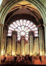 L'orgue de Notre-Dame de Paris