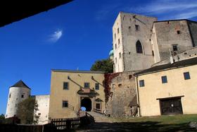 Castillo de Buchlov, foto: Bořek Žižlavský, ČRo