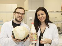 Vojtěch Kundrát et Andrea Hároniková, photo: Archives de l'Université technique de Brno