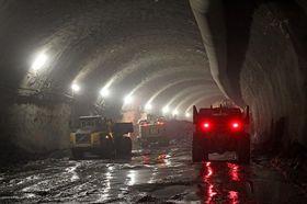 Photo: Blanka tunnel information center