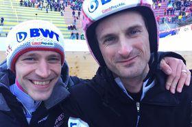 Roman Koudelka und Jakub Janda (Foto: Tomáš Kohout, Archiv des Tschechischen Rundfunks)