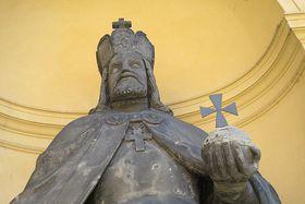 Estatua de Carlos IV, foto: Kristýna Maková