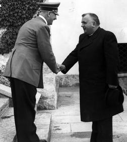 Адольф Гитлер и Йозеф Тисо, 1940, открытый источник