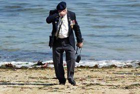 El soldado emocionado, foto: CTK