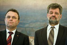 Ханс-Петер Фридрих и Ян Кубице (Фото: Филип Яндоурек, Чешское радио)